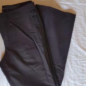 Wide Leg Tuxedo Pants